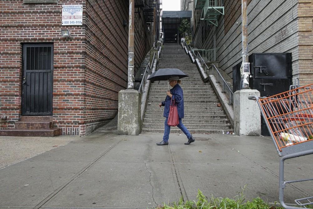 Las escaleras del 'Joker', la nueva  atracción de Nueva York