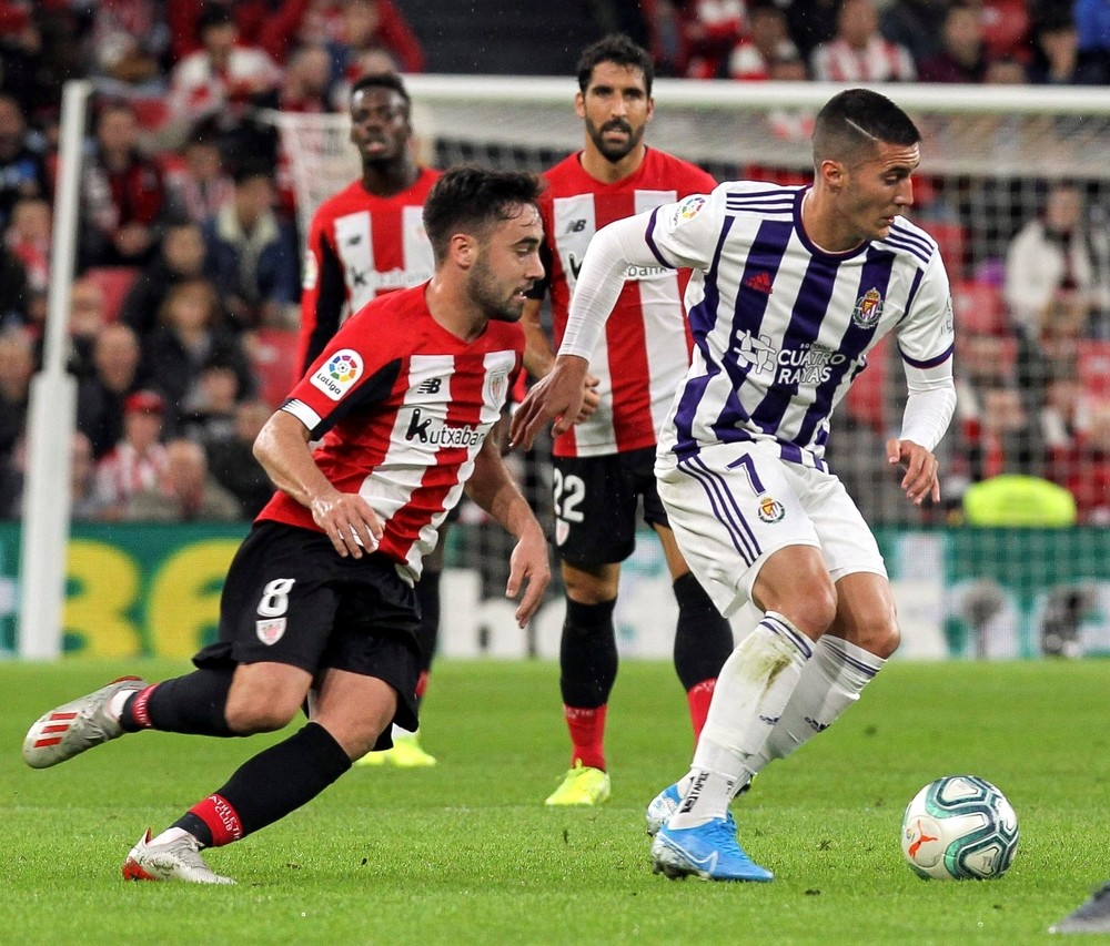 Athletic y Valladolid mantienen sus dinámicas