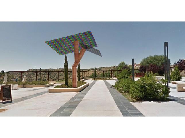 Alonso instalará árboles solares para estar conectado