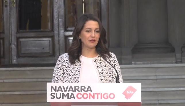 [DIRECTO] Inés Arrimadas participa en un acto en Pamplona Javier Ortega