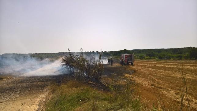 Navarra está hoy en riesgo extremo por incendios forestales