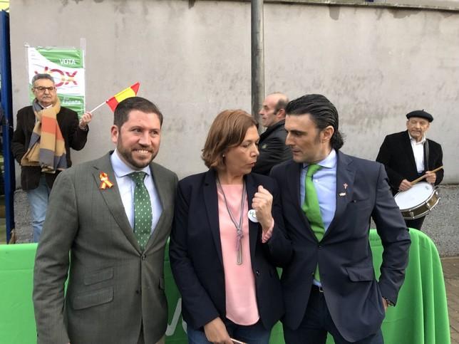 Ortega-Smith pide el voto