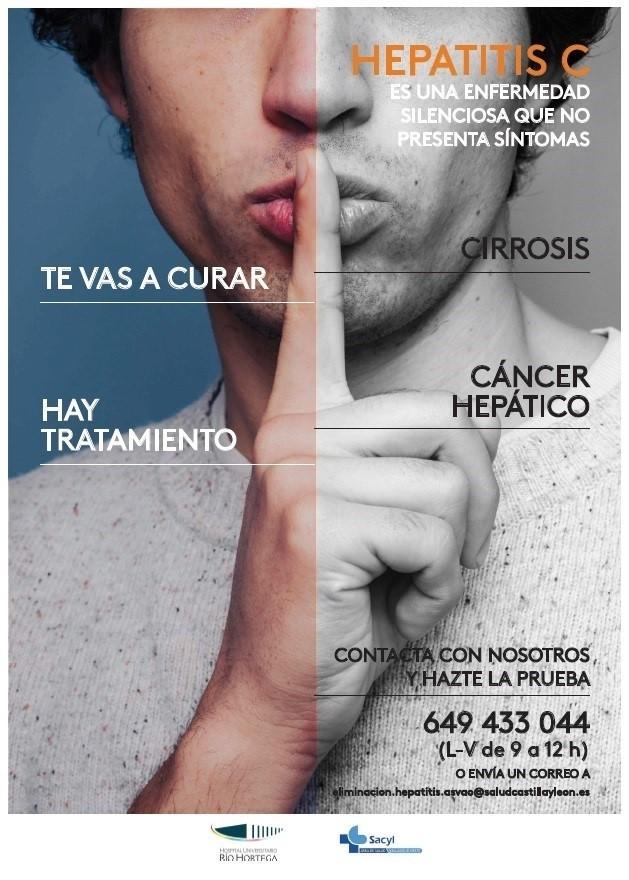 Campaña contra la hepatitis C en el Área de Valladolid Oeste