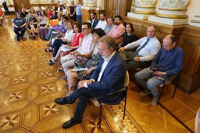El Ayuntamiento de Valladolid celebra el Día del Orgullo
