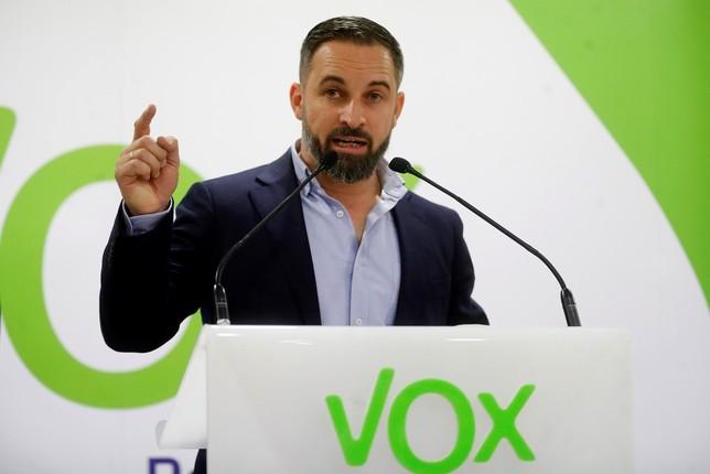Vox no apoyará a quienes no se sienten a hablar con ellos