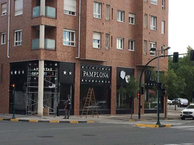 Próximamente se va a abrir una nueva sala en el barrio de la Rochapea Gonzalo Velasco