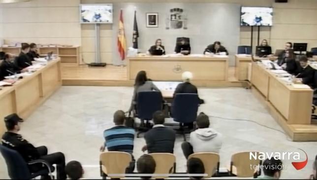Imagen del interior de la sala de la Audiencia Nacional donde se celebró el juicio NATV