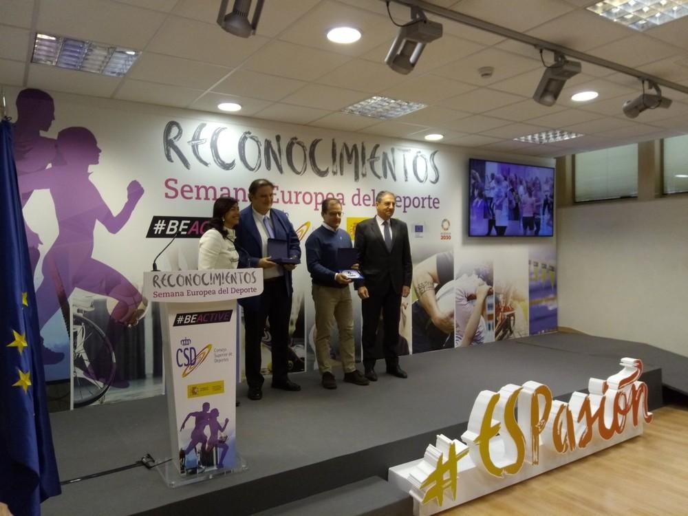 La UVa, premiada por la Semana Europea del Deporte