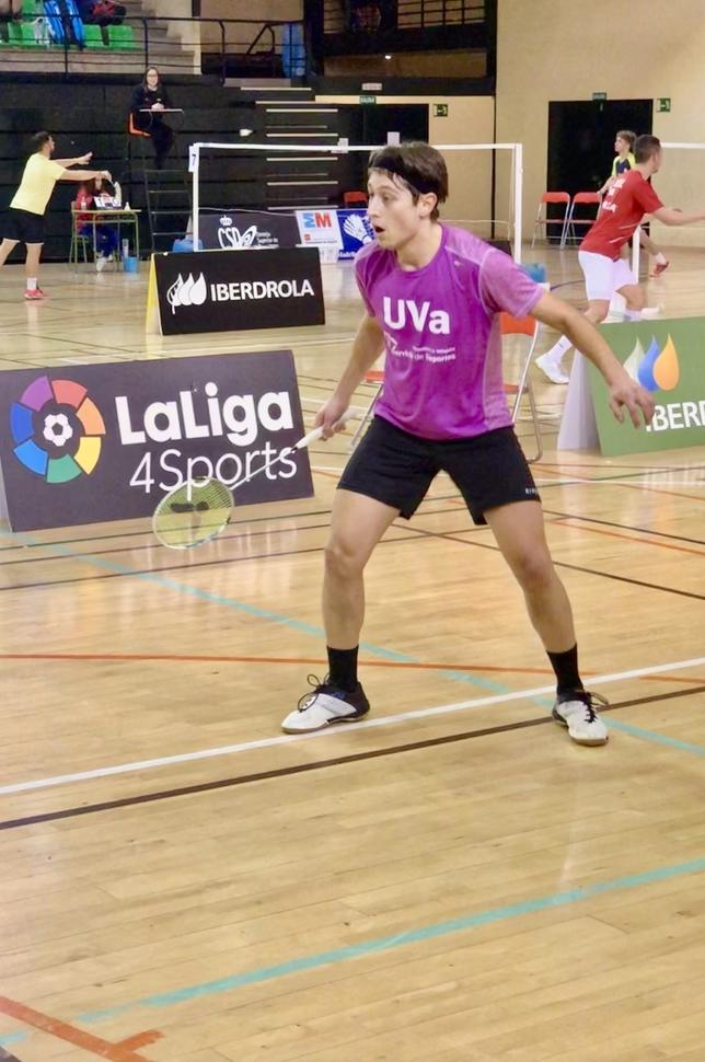 Enrique Fernández, quinto en el Máster Nacional