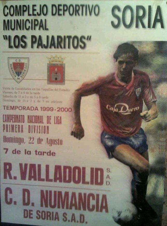 20 años del debut liguero del Numancia en Primera