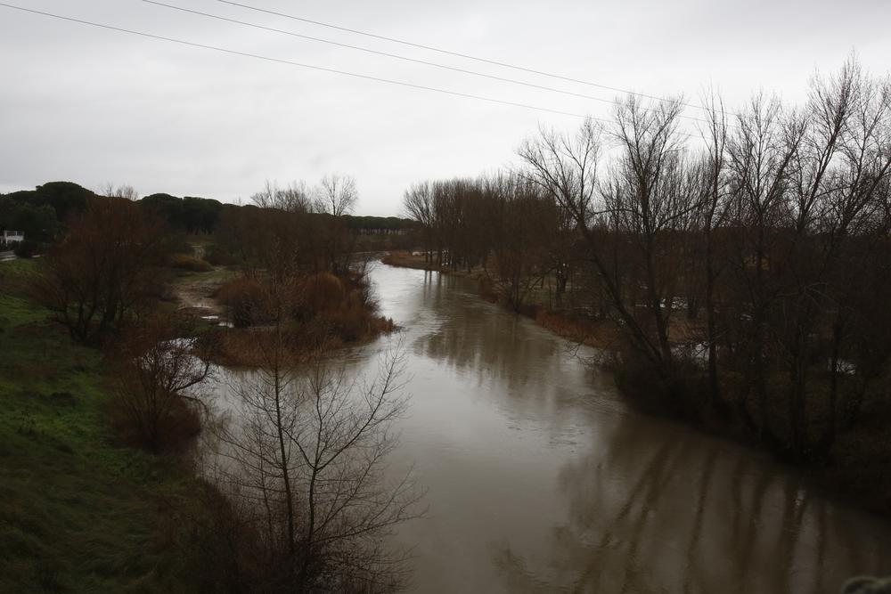 Lluvia en Valladolid