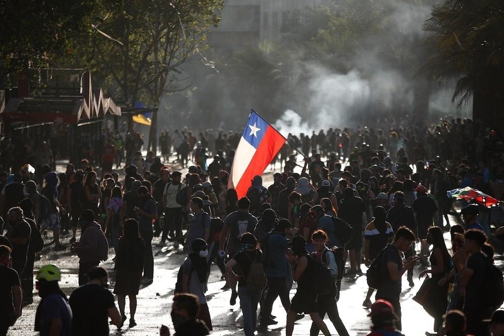 Rechazan la violación de derechos humanos en Chile