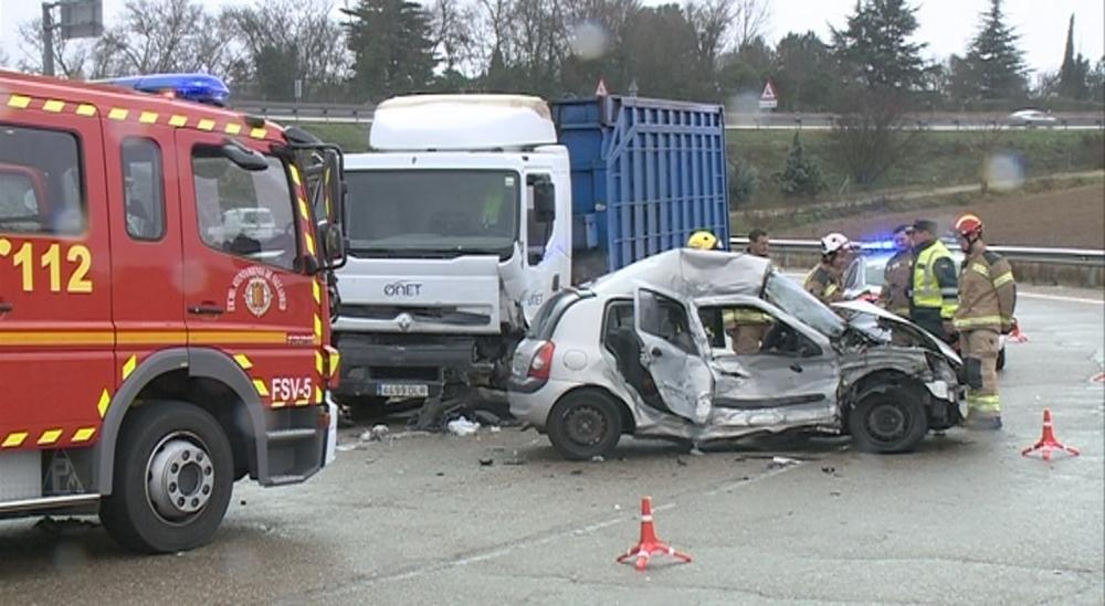 Último accidente mortal de 2019, el pasado 18 de diciembre en Simancas.