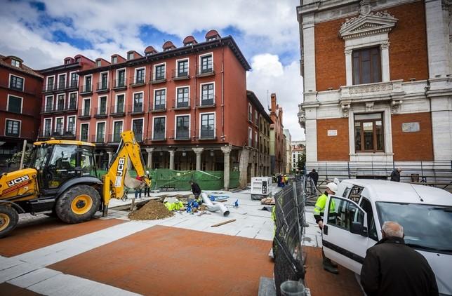 Saravia revisará el contrato del 'parking' de la Plaza Mayor