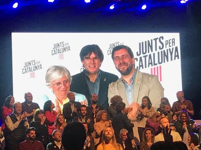 El Parlamento Europeo impide la entrada a Puigdemont y Comín