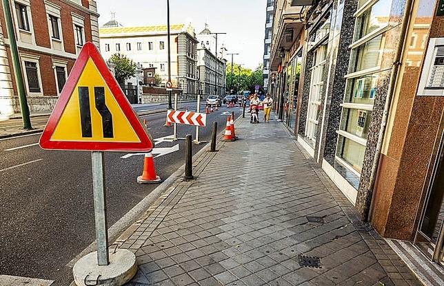 Casi una treintena de calles estará en obras en agosto
