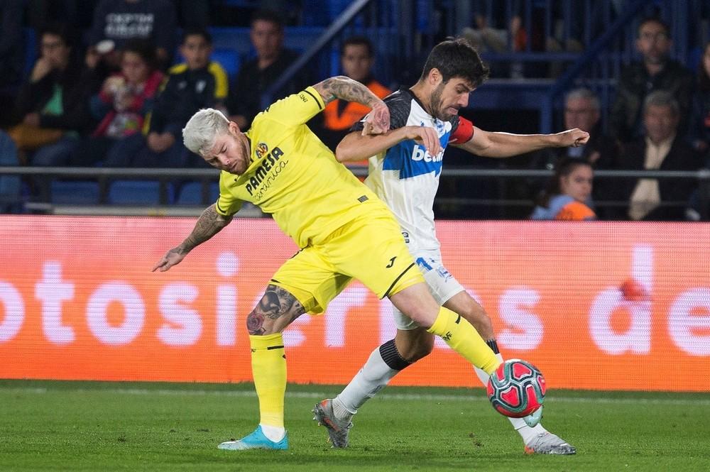 El Villarreal se coloca en Champions con un roto al Alavés