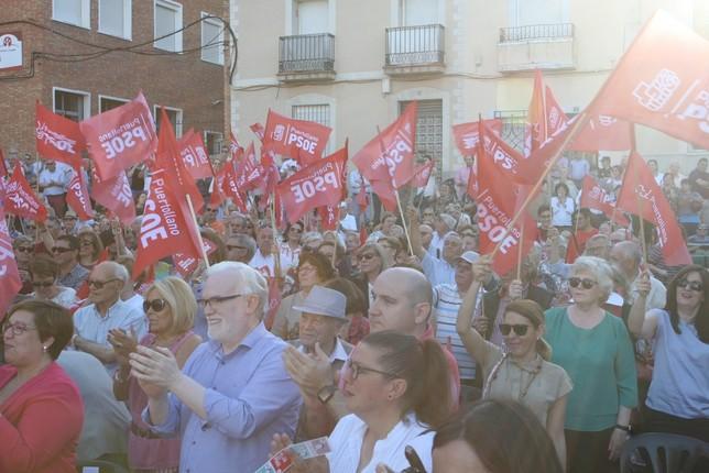 Parte de los asistentes al acto del PSOE.
