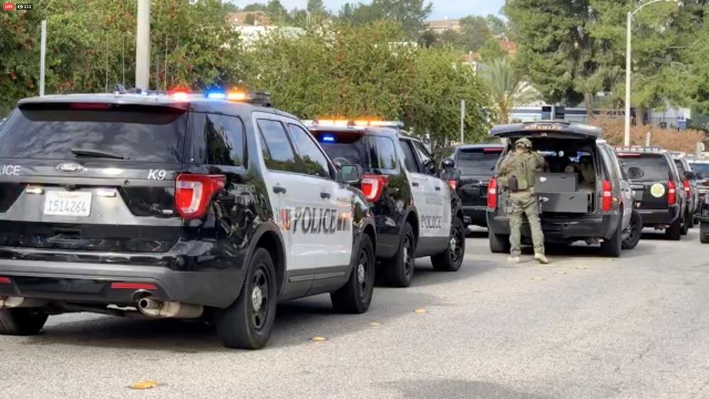 Seis heridos en un tiroteo en un instituto de Los Ángeles