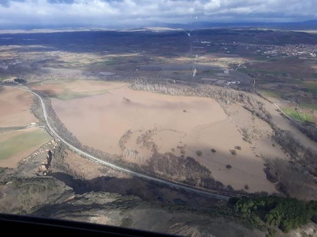 Preemergencia en torno al Ebro por inundaciones