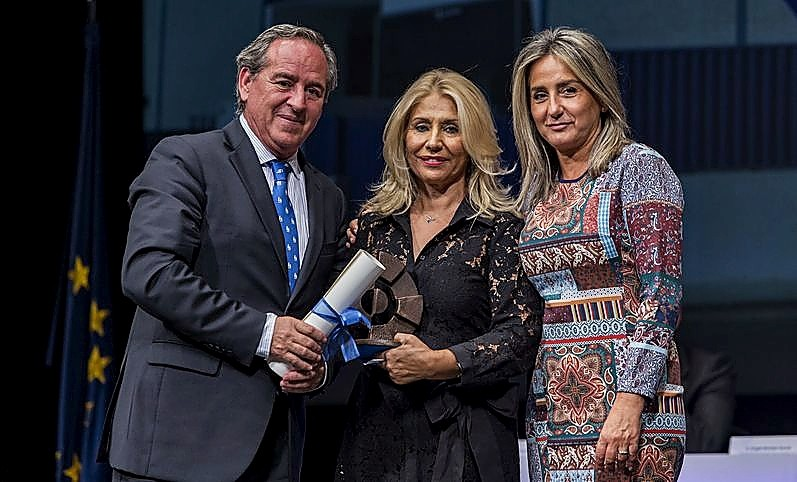 La premiada de Toledo es Manuela Padrino Sierra, de Arandi Illescas.