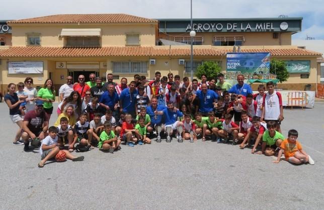 El Sportcity vuelve satisfecho del Torneo Costa del Sol