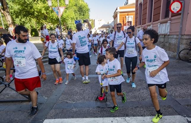 Pandorga run logra un record de alegía con 600 corredores