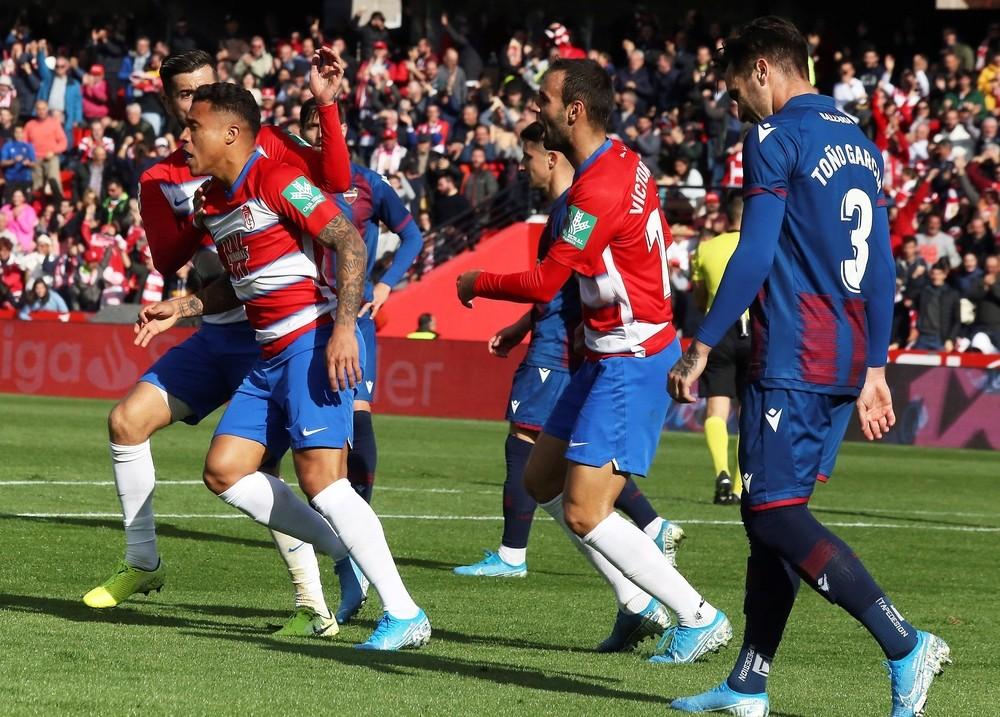 La pegada del Levante deja sin puntos al Granada