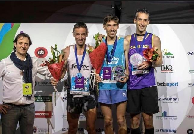 Tres podios para el TrainingRey Tello en el EDP San Fermín