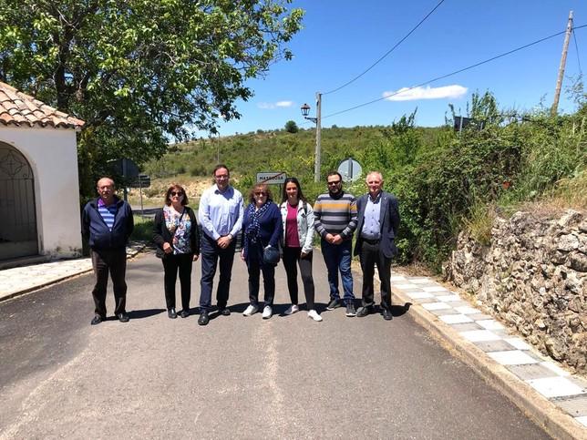 Diputación repara la vía de Santa María del Val a El Tobar
