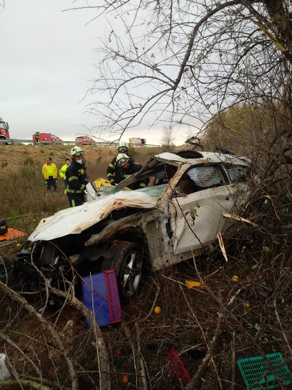 Una persona fallece en un accidente de tráfico en la A-30