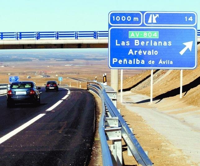 23,5 kilómetros de autovía para unir Ávila con la A-6