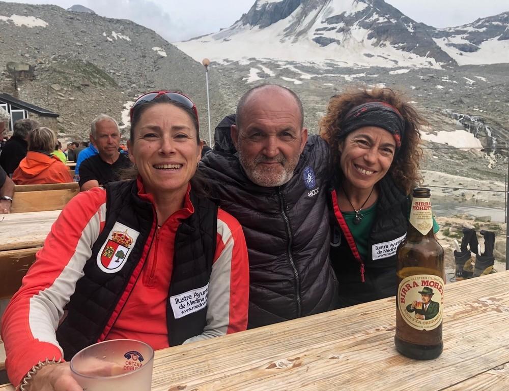 Emoción en el techo de los Alpes