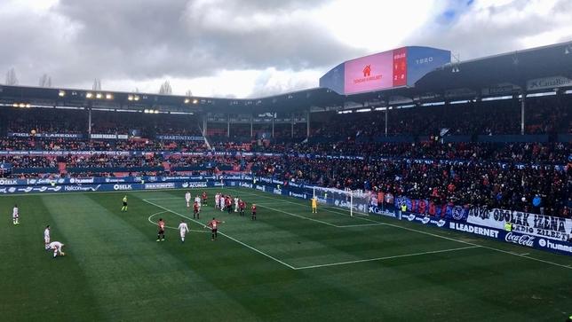 Séptima victoria de Osasuna gracias a un sensacional Barja