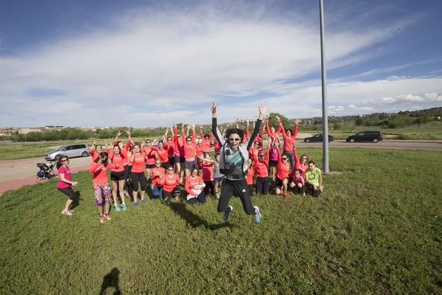 Entrenamiento y récord Guinness para ayudar a Marcos Yolanda Lancha