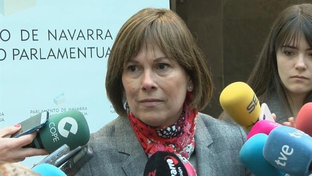 Para Barkos el adelanto electoral no es bueno para Navarra