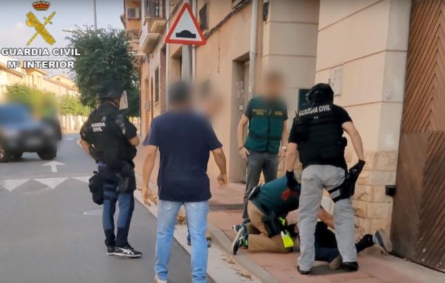 Detenidos en La Rioja los dos atracadores del banco de Mota