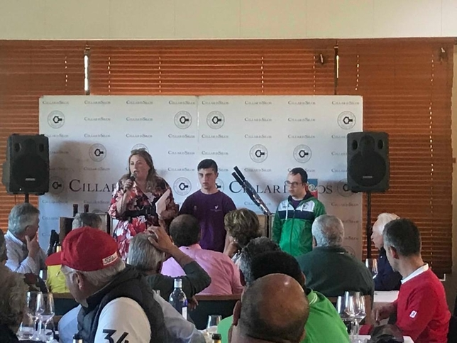 La bodega organizó un torneo de golf en Lerma. DB