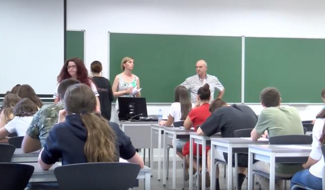 161 alumnos en la convocatoria extraordinaria de la EBAU