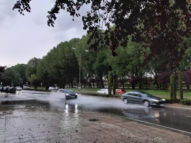 Avenida de Castilla y León.