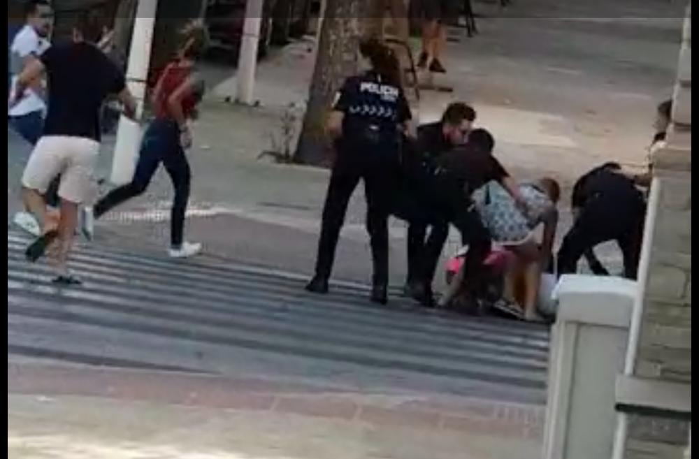 Una reyerta entre clanes se salda con varios heridos