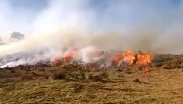 Sólo un incendio sigue activo, pero ya está bajo control