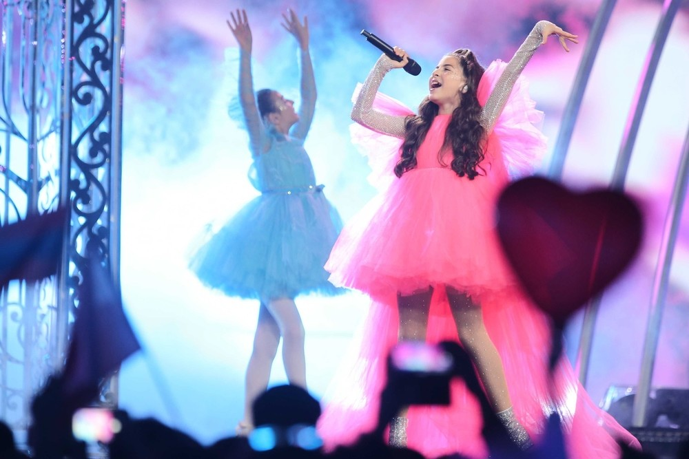 España logra el tercer puesto en Eurovisión Junior