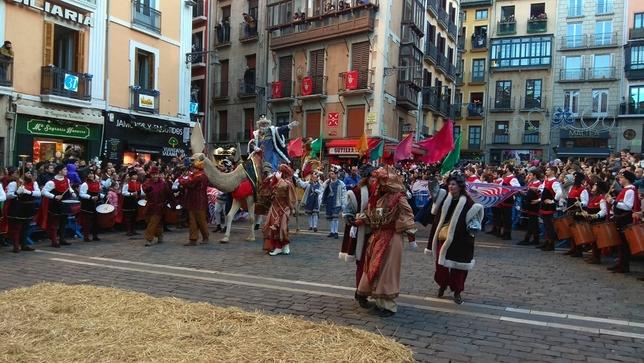 ¡Ya están aquí! Los Reyes Magos llegan a Pamplona