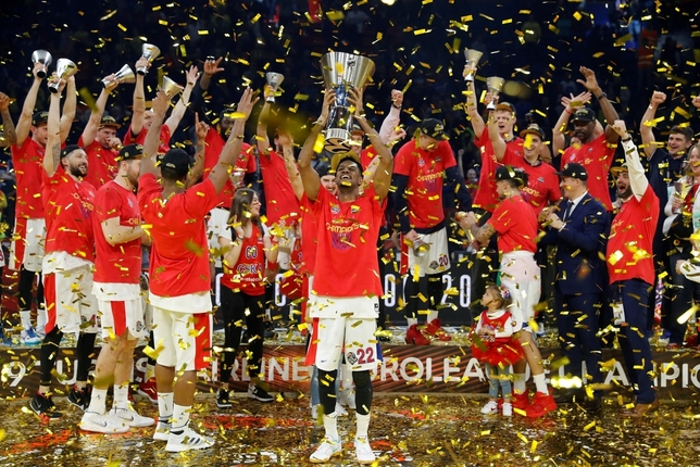 El CSKA levanta su octava Euroliga Juan Carlos Hidalgo