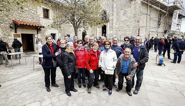 Este grupo viene de Burgos capital todos los años.
