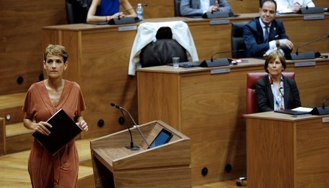 Chivite será esta tarde la nueva Presidenta de Navarra
