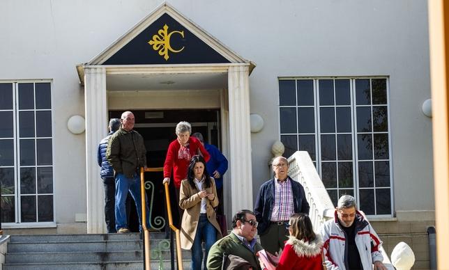 La mitad de los ancianos continúa en la residencia Calatrava Rueda Villaverde