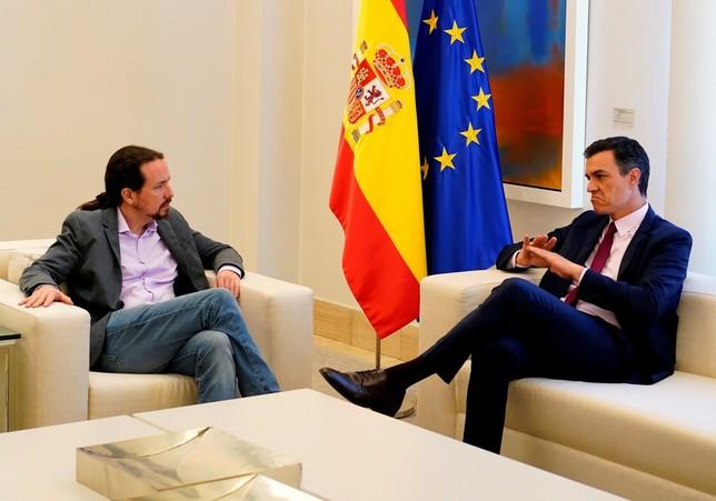 Sánchez confirma su veto a Iglesias
