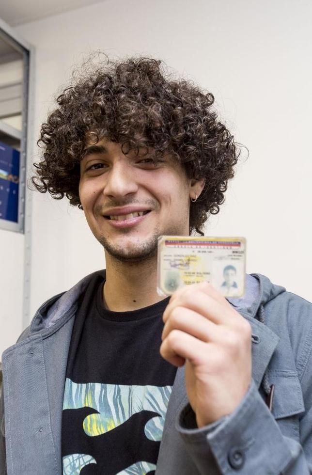 Daniel Lisardo González llegó hace casi tres años para jugar en el juvenil del Burgos CF. Salió de Venezuela en 2013 rumbo a Inglaterra.